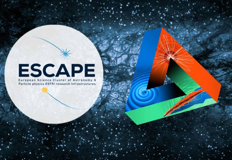 ESCAPE engages in the initiative for dark matter spanning ECFA, NuPECC and APPEC