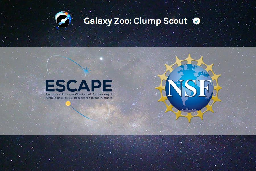 The first ESCAPE Citizen Science project, Clump Scou
