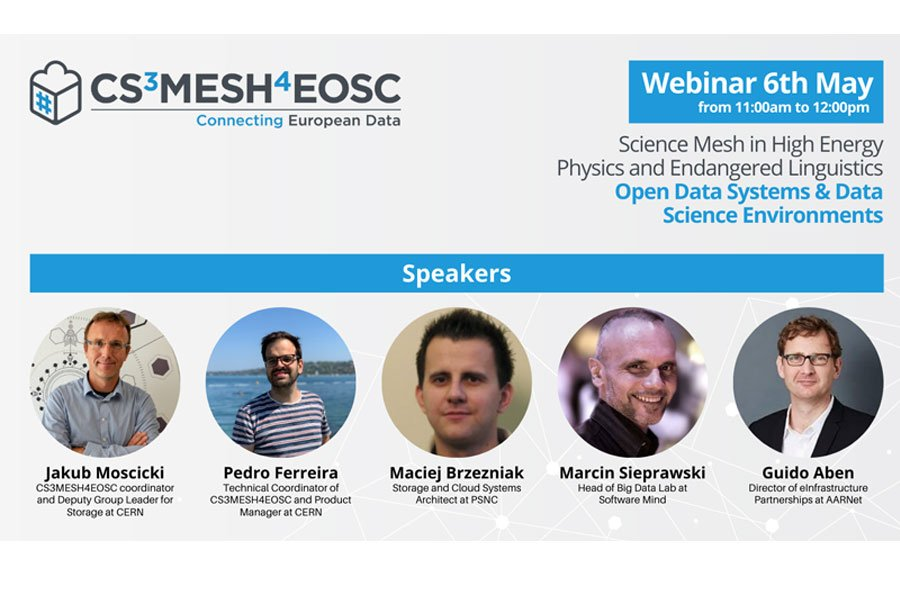 Science Mesh in High Energy Physics and Endangered Linguistics - Open Data Systems & Data Science Environments